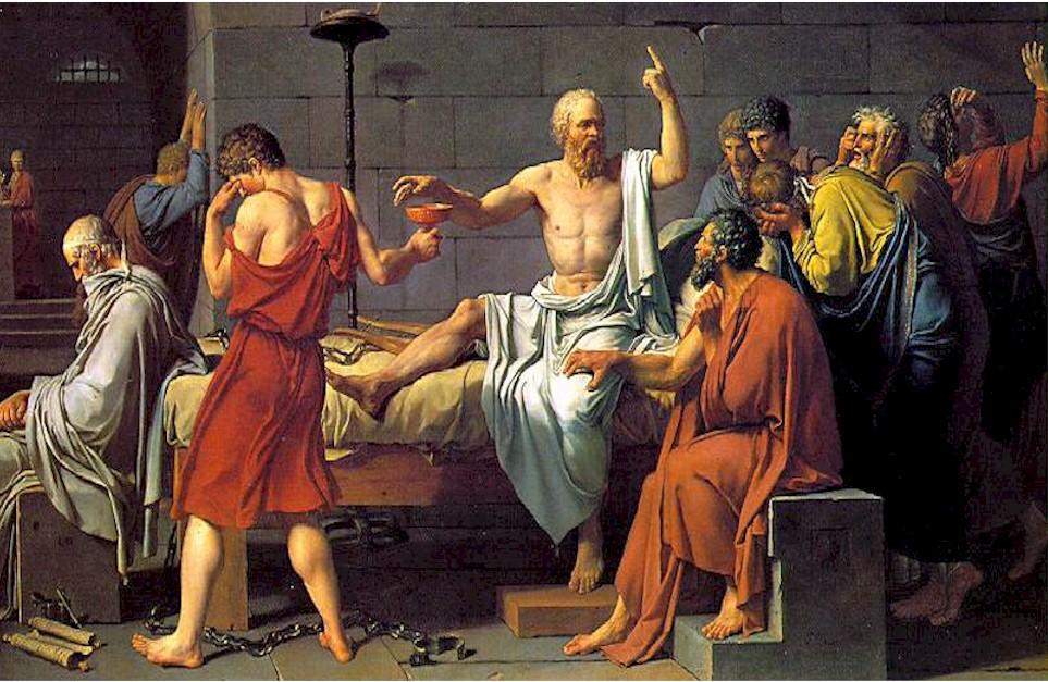 Bebiendo Cicuta - Socrates