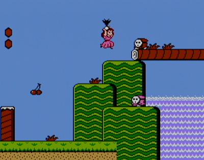 Mario Bros. 2 – Princess with Radish