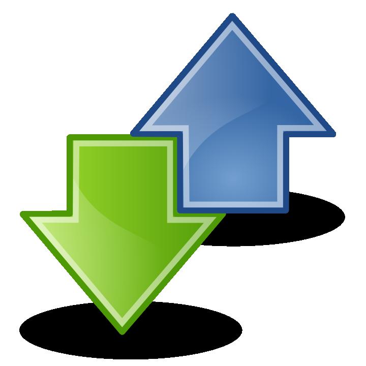 Transfer Icon Arrows
