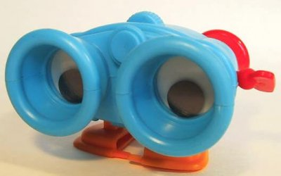 Wind Up Binoculars