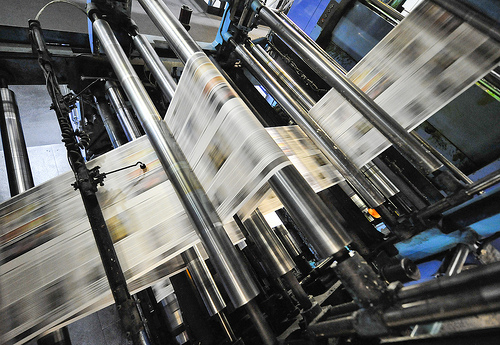 Newspaper Presses
