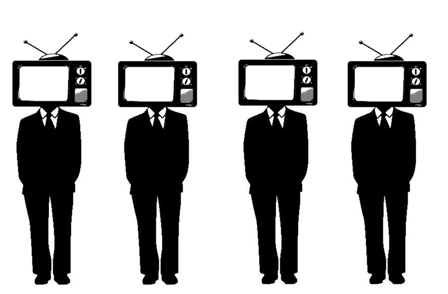 Television Heads Obey
