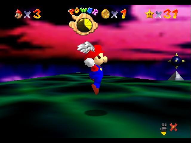 NINTENDO 64 Super Mario Pie Fragments