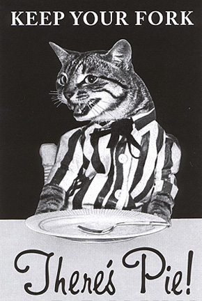 Keep Your Fork Theres Pie Cat