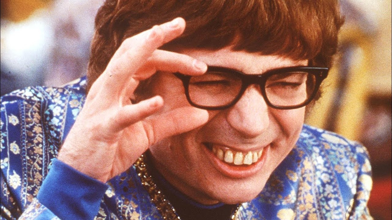 Austin Powers Squinting